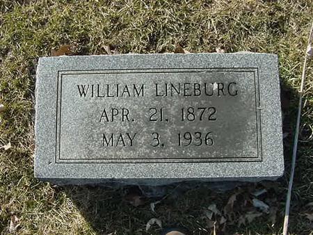 LINEBURG, WILLIAM - Scott County, Iowa | WILLIAM LINEBURG
