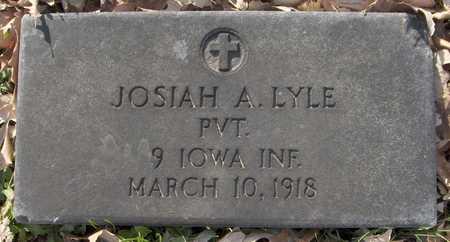 LYLE, PVT. JOSIAH A. - Scott County, Iowa | PVT. JOSIAH A. LYLE