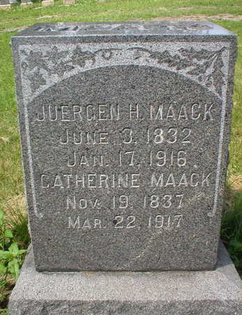 MAACK, CATHERINE - Scott County, Iowa | CATHERINE MAACK