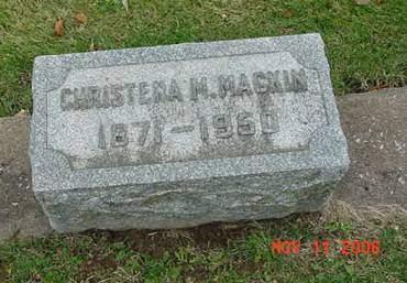 MACKIN, CHRISTENA M - Scott County, Iowa | CHRISTENA M MACKIN