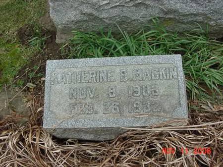 MACKIN, KATHERINE B - Scott County, Iowa | KATHERINE B MACKIN