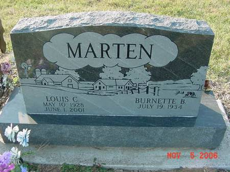 MARTEN, LOUIS C - Scott County, Iowa | LOUIS C MARTEN