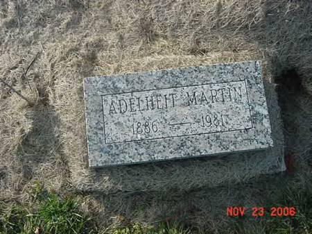 MARTIN, ADELHEIT - Scott County, Iowa | ADELHEIT MARTIN