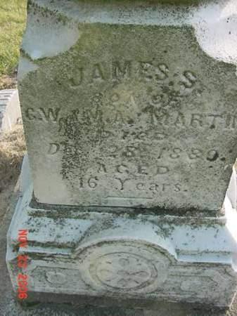 MARTIN, JAMES S - Scott County, Iowa | JAMES S MARTIN