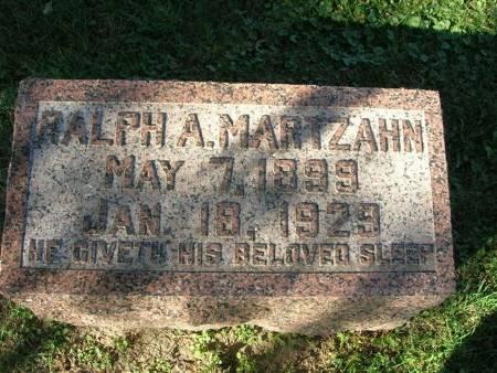 MARTZAHN, RALPH A. - Scott County, Iowa | RALPH A. MARTZAHN