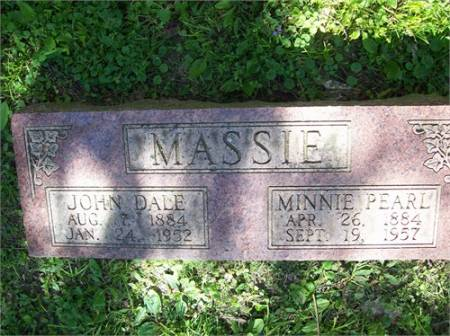 MASSIE, JOHN DALE MINOR - Scott County, Iowa | JOHN DALE MINOR MASSIE