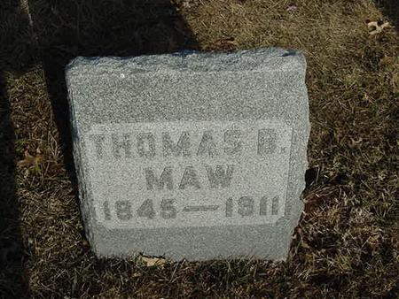 MAW, THOMAS B. - Scott County, Iowa | THOMAS B. MAW