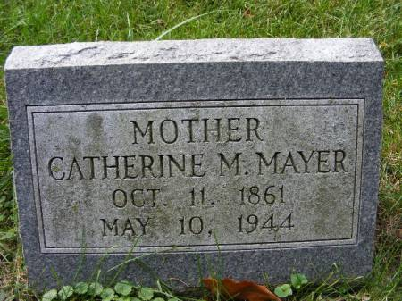 MAYER, CATHERINE M. - Scott County, Iowa | CATHERINE M. MAYER