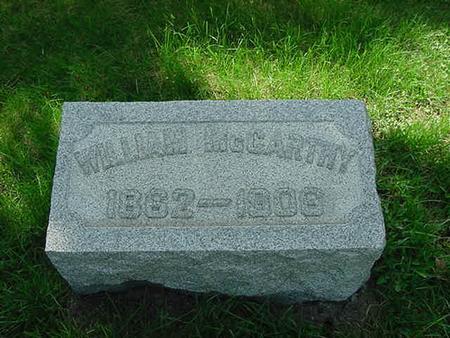 MCCARTHY, WILLIAM - Scott County, Iowa | WILLIAM MCCARTHY