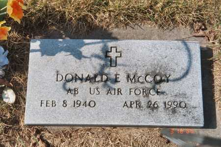MCCOY, DONALD EDWARD - Scott County, Iowa | DONALD EDWARD MCCOY