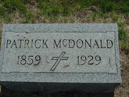 MCDONALD, JULIA A - Scott County, Iowa | JULIA A MCDONALD