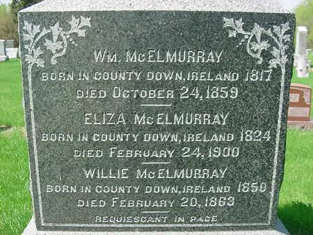 MCELMURRAY, ELIZA - Scott County, Iowa | ELIZA MCELMURRAY