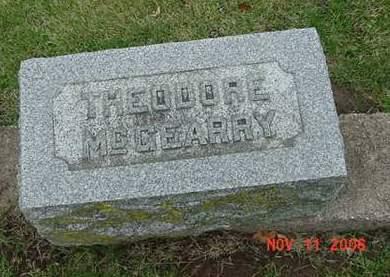 MCGEARRY, THEODORE - Scott County, Iowa   THEODORE MCGEARRY