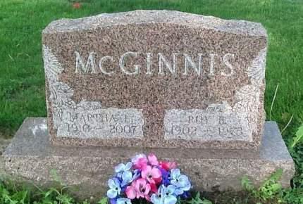MCGINNIS, MARTHA L. - Scott County, Iowa   MARTHA L. MCGINNIS