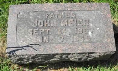 MEIER, JOHN - Scott County, Iowa   JOHN MEIER