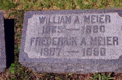 MEIER, WILLIAM A. - Scott County, Iowa | WILLIAM A. MEIER
