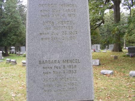 MENGEL, ANNA - Scott County, Iowa | ANNA MENGEL