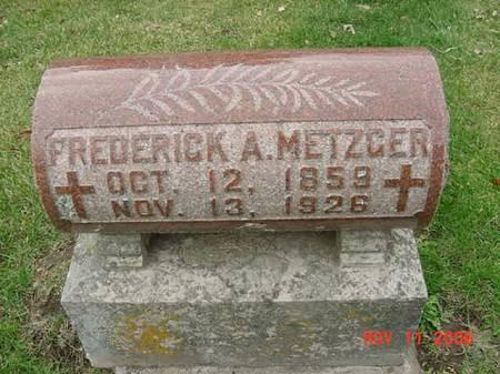 METZGER, FREDERICK A - Scott County, Iowa | FREDERICK A METZGER
