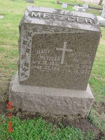 METZGER, MARY - Scott County, Iowa | MARY METZGER