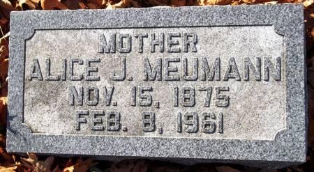 MEUMANN, ALICE J. - Scott County, Iowa | ALICE J. MEUMANN