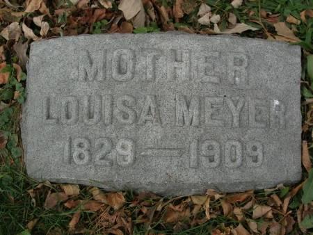 MEYER, LOUISA - Scott County, Iowa | LOUISA MEYER