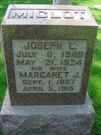 MICLOT, JOSEPH L - Scott County, Iowa | JOSEPH L MICLOT