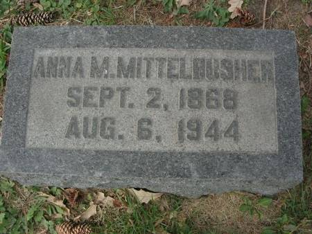 MITTELBUSHER, ANNA M. - Scott County, Iowa | ANNA M. MITTELBUSHER