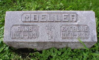 MOELLER, CARLINE - Scott County, Iowa | CARLINE MOELLER