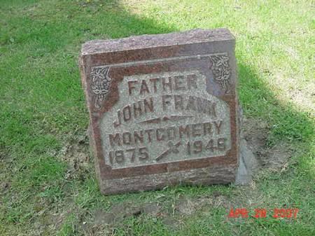 MONTGOMERY, JOHN FRANK - Scott County, Iowa | JOHN FRANK MONTGOMERY