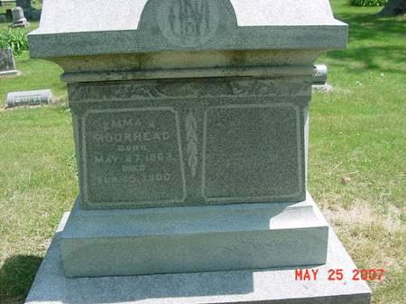 MOORHEAD, EMMA A - Scott County, Iowa | EMMA A MOORHEAD