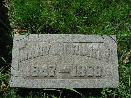 MORIARTY, MARY - Scott County, Iowa | MARY MORIARTY