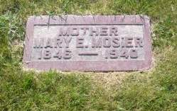 BEAMER MOSIER, MARY - Scott County, Iowa | MARY BEAMER MOSIER