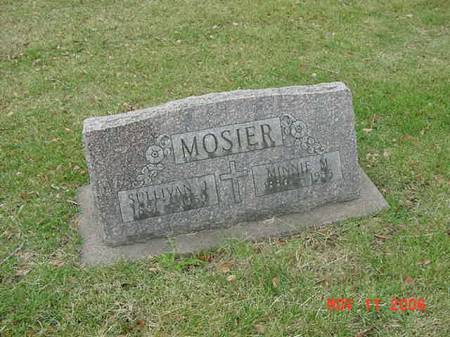 MOSIER, MINNIE M - Scott County, Iowa | MINNIE M MOSIER