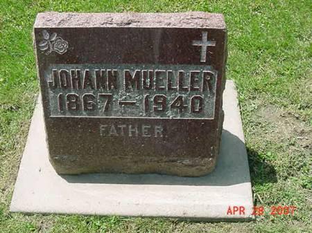 MUELLER, JOHANN - Scott County, Iowa | JOHANN MUELLER