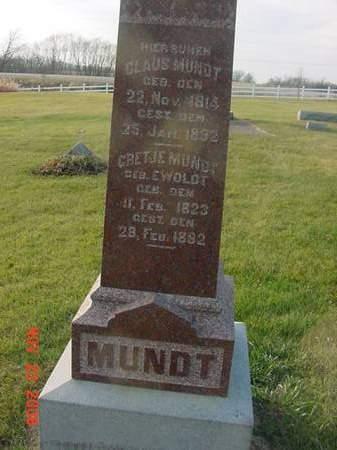 MUNDT, GRETJE - Scott County, Iowa | GRETJE MUNDT