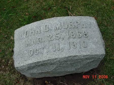 MURPHY, JOHN D - Scott County, Iowa | JOHN D MURPHY