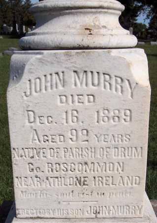 MURRY, JOHN - Scott County, Iowa | JOHN MURRY