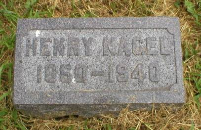 NAGEL, HENRY - Scott County, Iowa | HENRY NAGEL