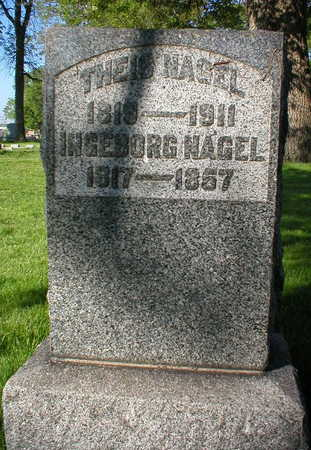 NAGEL, THEIS - Scott County, Iowa | THEIS NAGEL