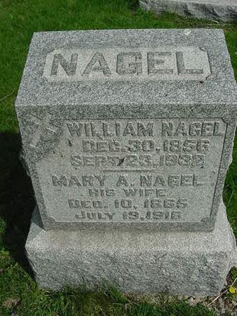 NAGEL, MARY A - Scott County, Iowa | MARY A NAGEL