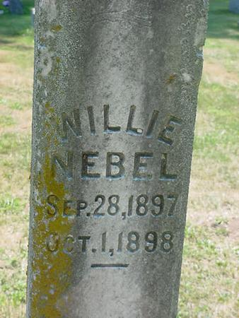 NEBEL, WILLIE - Scott County, Iowa | WILLIE NEBEL