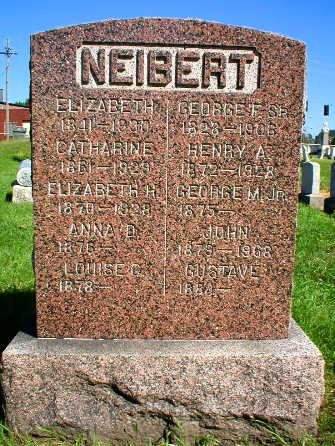 NEIBERT, GEORGE M. JR. - Scott County, Iowa | GEORGE M. JR. NEIBERT