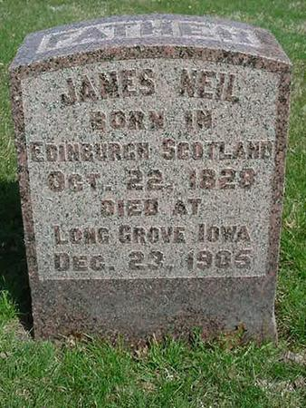 NEIL, JAMES - Scott County, Iowa | JAMES NEIL
