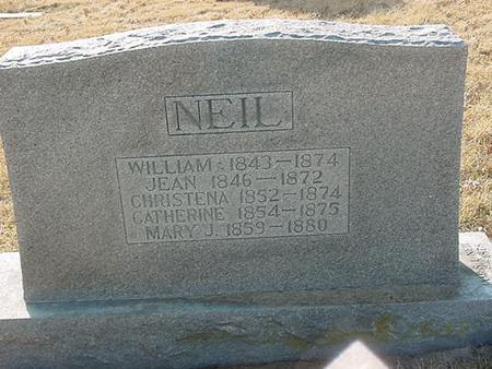 NEIL, WILLIAM - Scott County, Iowa | WILLIAM NEIL