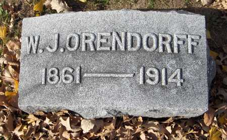 ORENDORFF, W.J. - Scott County, Iowa | W.J. ORENDORFF