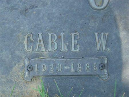 OTT, CABLE W. - Scott County, Iowa | CABLE W. OTT