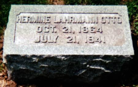 LAHRMANN OTTO, HERMINE - Scott County, Iowa | HERMINE LAHRMANN OTTO