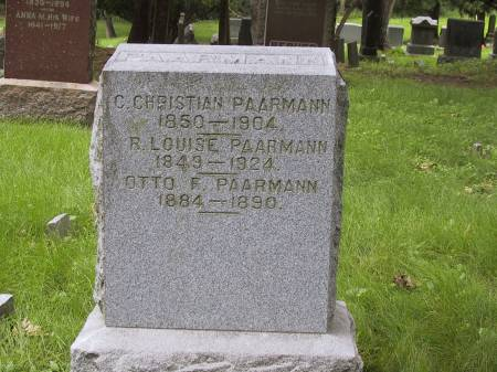 PAARMANN, OTTO F. - Scott County, Iowa | OTTO F. PAARMANN