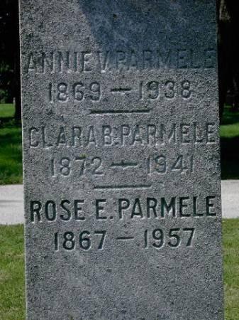 PARMELE, ROSE EMMA - Scott County, Iowa | ROSE EMMA PARMELE