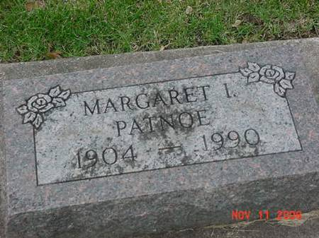 PATNOE, MARGARET I - Scott County, Iowa | MARGARET I PATNOE